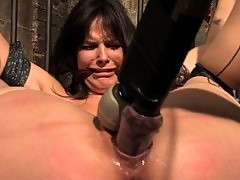 Bobbi Starr starts of the New Year screaming in orgasm
