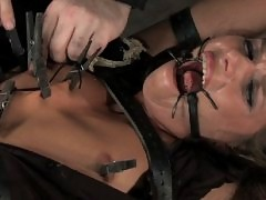 Devaun and Andy San Dimas suffer through hrs of live BDSM pain